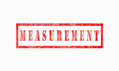 graphic of measurement