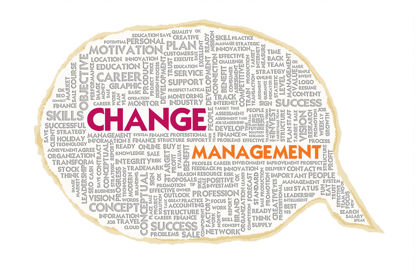word cloud for change management