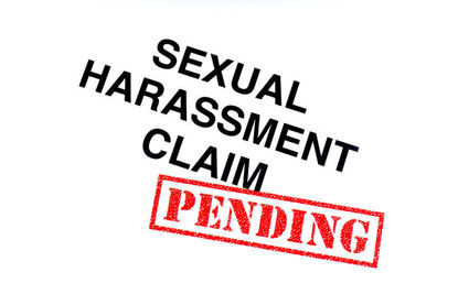 sexual harassment claim with pending stamp