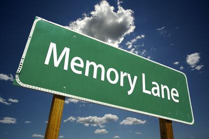 sign for memory lane