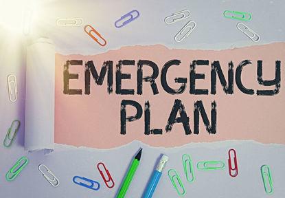words emergency plan
