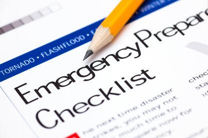emergency preparation checklist