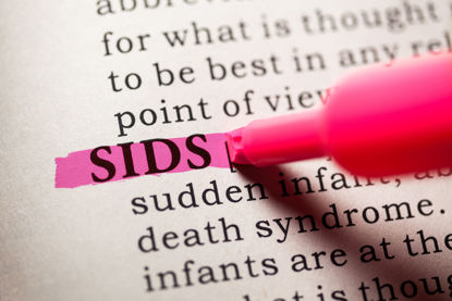 SIDS highlighted in dictionary