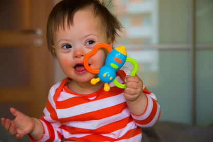 child with Downs syndrome
