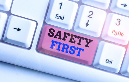 safety first button on keyboard