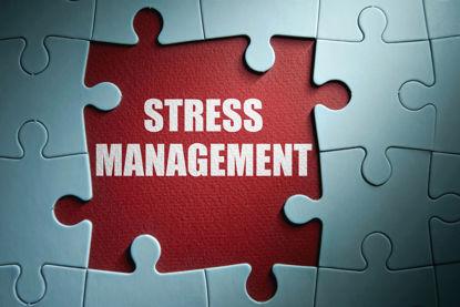words stress management under a puzzle