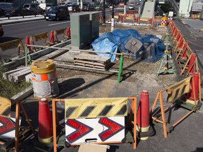 road construction barriers