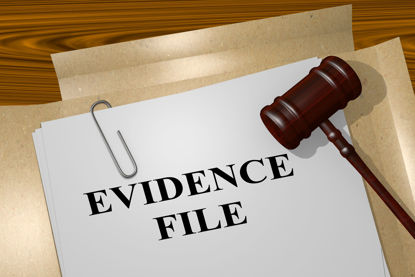evidence file