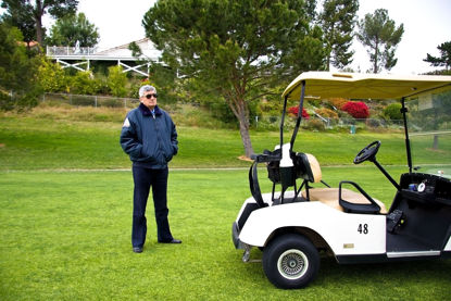 security on golf course