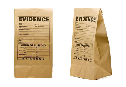 evidence bags