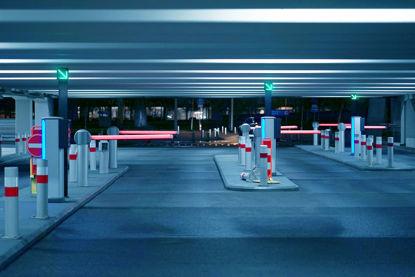 parking garage gates