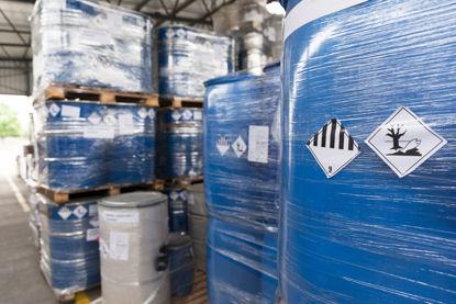 hazardous materials barrel